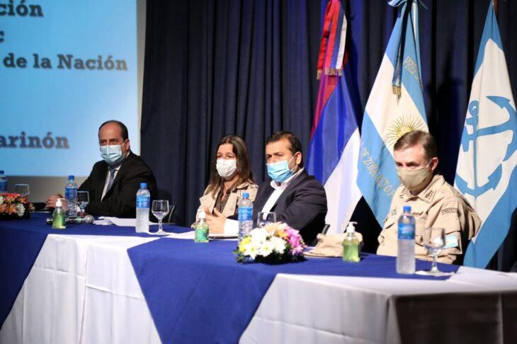 Herrera Ahuad con Fréderic: foco en seguridad de fronteras y zona libre de impuestos