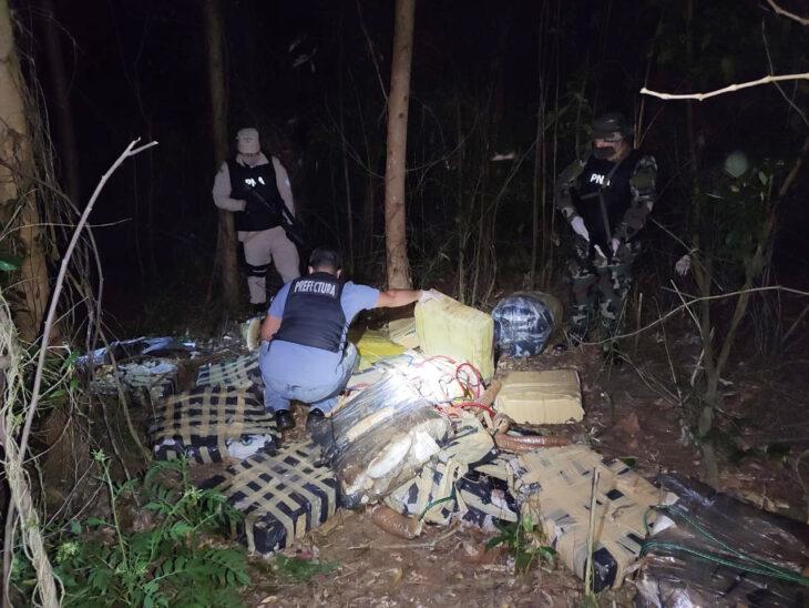 Prefectura secuestró más de 580 kilos de marihuana en Puerto Libertad
