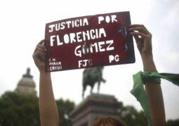 Organizaciones movilizadas exigen Justicia por Florencia Gómez y por todas las víctimas de femicidios