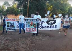 Femicidio de Vilma Mercado: a un año de su muerte, marcharon para exigir justicia