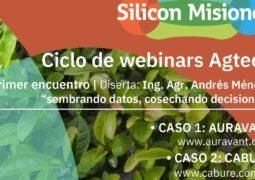 Iniciarán el ciclo de webinars Agtech en el marco del convenio entre la UNaM y Silicon Misiones