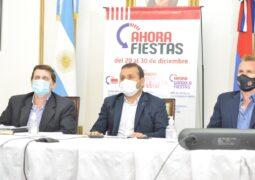 El Gobierno Provincial lanzó el programa «Ahora Fiestas», con descuentos y bonificaciones hasta el 30 de diciembre