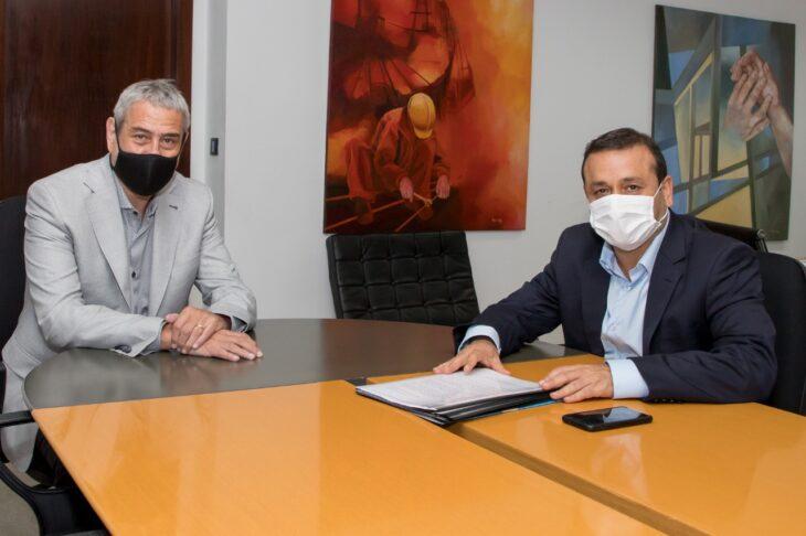 El gobernador Herrera Ahuad se reunió con el nuevo ministro Ferraresi
