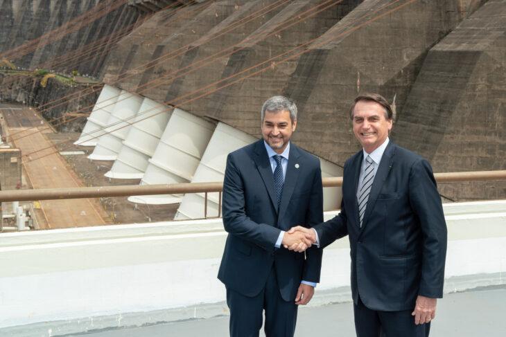 Bolsonaro y Abdo Benítez volverán a encontrarse el próximo martes en la Triple Frontera
