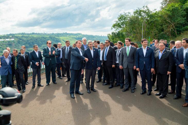 Marito y Bolsonaro otra vez juntos en la Triple Frontera