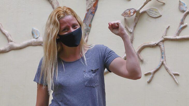 Por primera vez en el país, una mujer en situación de violencia ocupará el trabajo de su agresor
