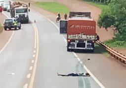Puerto Libertad: peatón murió en el acto tras ser atropellado por un camión