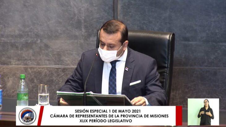 Herrera Ahuad abre el período de sesiones legislativas 2021