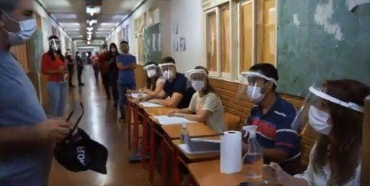 El Tribunal Electoral de Misiones realizó una simulación sobre cómo será el domingo de elecciones