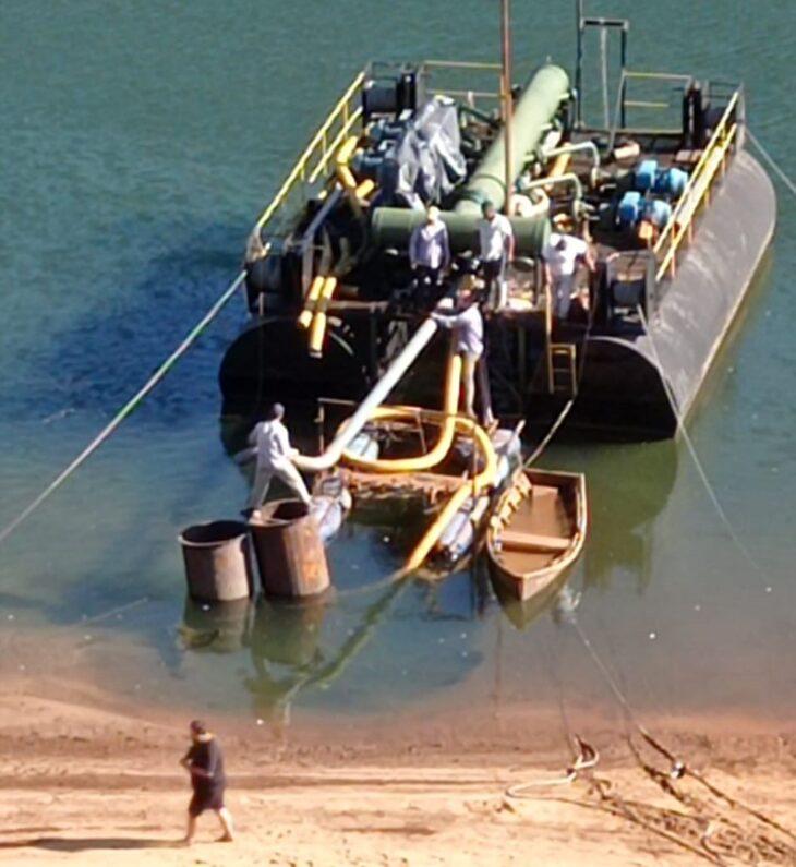 La toma de agua del río Iguazú fuera de servicio: solo se toma el líquido del arroyo Mbocaí
