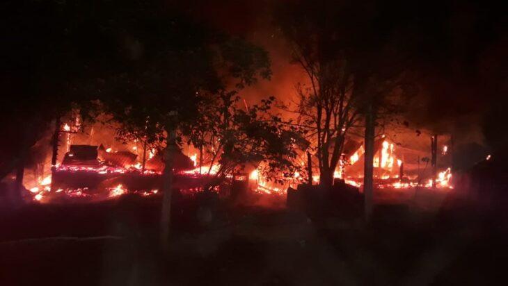 Un hombre murió por un incendio ocurrido esta madrugada en las 2 mil hectáreas
