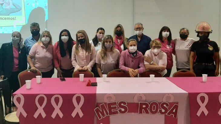 Octubre, el mes dedicado a la concientizacion y prevención del cáncer de mama y cuello de útero.
