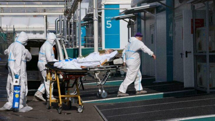 Rusia superó su máximo diario de nuevos contagios de Coronavirus