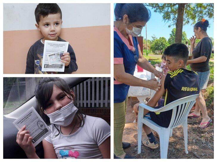Más de 17 mil niños y niñas ya se aplicaron la primera dosis de la vacuna contra el Covid-19